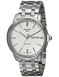 Tissot Men's T0654301103100 Automatic III Swiss Automatic Silver-Tone Stainless Steel Watch