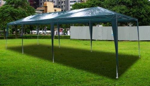 新しい30 ' x10 'アウトドアパーティーウェディングテントGazeboイベントPavilion – グリーン B00FZ2MVSC