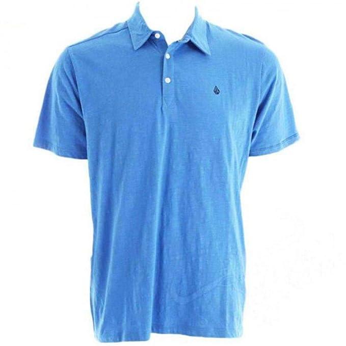 Volcom Niños Bang out Slub Kids Polo Shirt - Regatta Azul - Youth ...