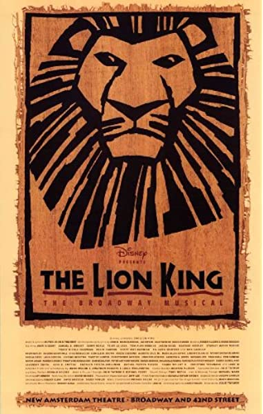 Amazon Com The Lion King The Broadway Musical Poster Broadway 27 X 40 Inches 69cm X 102cm 9999 Poster Print 27x40 Posters Prints