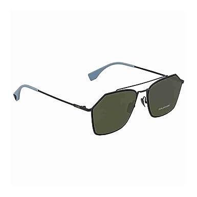 d64d5cd64e859 Sunglasses Fendi Men Ff M 22 S 0KB7 Gray UC green polarized lens at ...