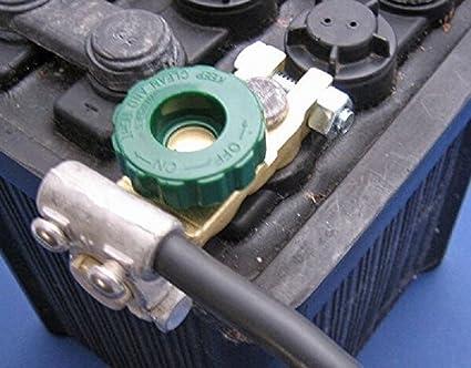 Cocar Coche Sin Hilos Remoto Controlar bater/ía Interruptor Desconectar Pestillo Rel/é Anti-Robo CC 12V Electromagn/ético Solenoide V/álvula Terminal Master Kill System