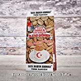 ilyas Gonen Dibek Ground Turkish Coffee/Plain Dibek and 19 Different Flavored (100g / 3,5oz) (Sweet Almond Flavored Ground Turkish Coffee) -  Dibek Kuru Kahve