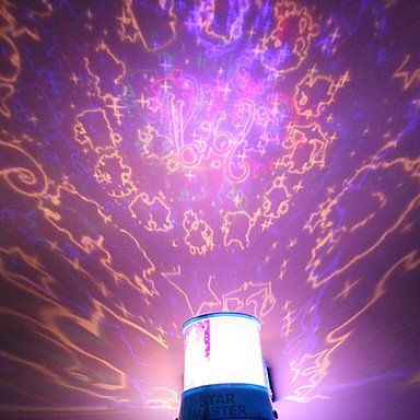 DIY Constellation Romantic Galaxy Starry Sky Projector Night Light For  Celebrate Christmas Party Convinent