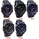 Womens Mens Unisex Quartz Watch,COOKI Unique Analog Casual Fashion Wristwatch,Clearance Cheap Watches with Round Dial Case,Comfortable Silicone Band-W15