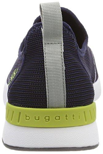 Bugatti Dy01626, Baskets Enfiler Homme Bleu (Navy)
