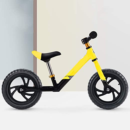 HHXX Bicicleta de Equilibrio para niños, 12 Pulgadas, Marco de ...