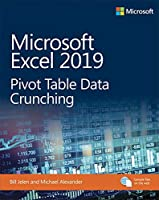 Microsoft Excel 2019 Pivot Table Data Crunching Front Cover