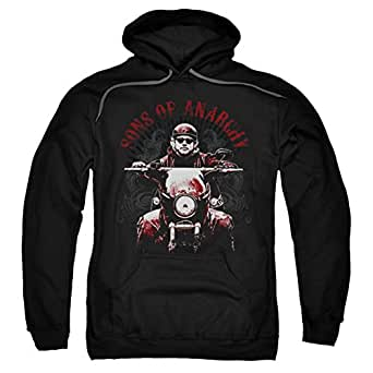 hoodie sons of anarchy ride on pullover hoodie. Black Bedroom Furniture Sets. Home Design Ideas