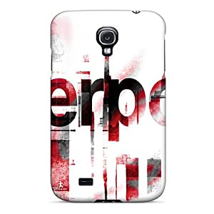 New Style Holety Hard Case Cover For Galaxy S4- Popular Club Of England Liverpool