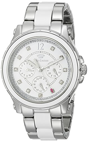 Juicy Couture Women's 1901304 Hollywood Analog Display Quartz Silver Watch
