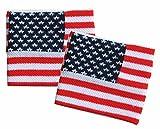 Sweatband Wrist American Flag Wristband American