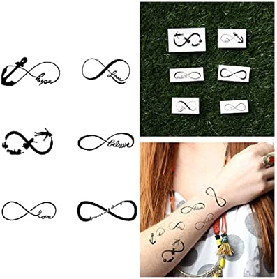 Tatuajes Temporales Tattify - Varios Símbolos del Infinito - Por ...