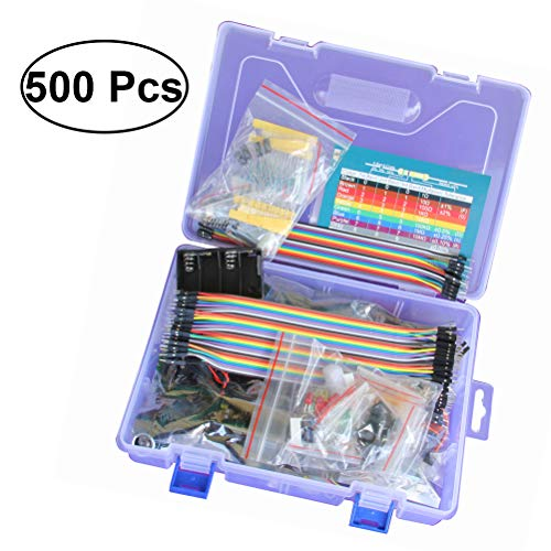 Yardwe Arduino Project Starter Kit with Tutorial and Components Beadboard Kits