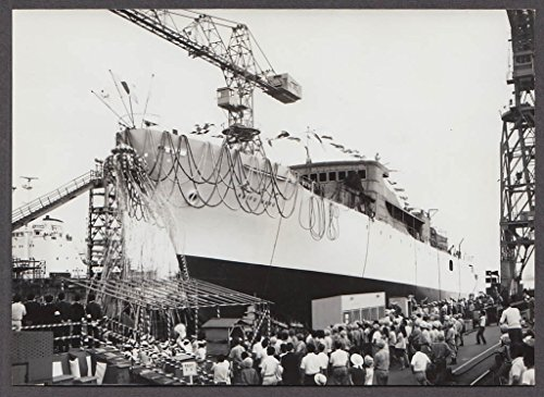 Launch Photo - Japanese Research Survey Vessel Keifu Maru launch photo 1969