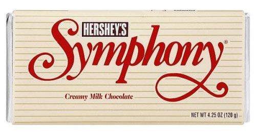 Hershey's Symphony Milk Chocolate Bar, 6.8-Ounce Bar