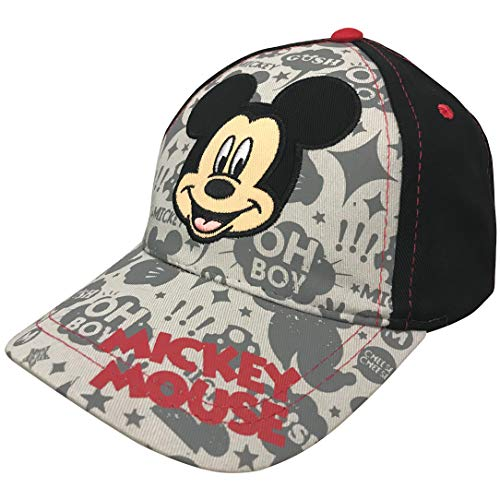 Disney Little Boys Mickey Mouse Baseball Cap - 100% Cotton]()