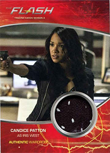 (Flash Season 2 Costume Wardrobe Card M04 Candice Patton as Iris West)