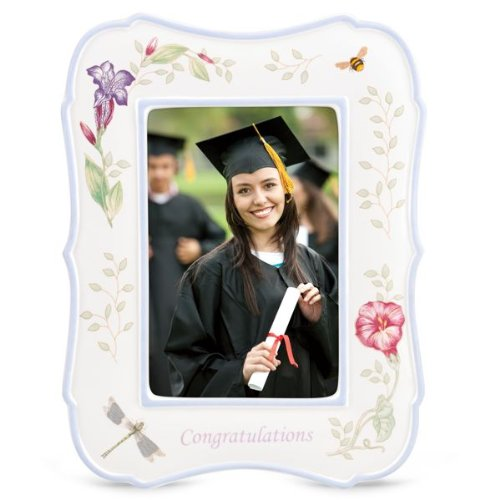 LENOX Butterfly Meadow Everyday Celebrations Frame 4x6 - congratulations