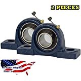 2 Piece UCP201-8, 1-2 inch Pillow Block Bearing Solid Base,Self-Alignment, Brand NEW
