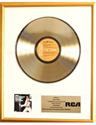 Elvis Presley From Elvis Presley Boulevard Memphis Tennessee LP Gold Record Award To RCA Records