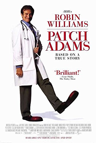 Patch Adams Poster Movie C Robin Williams Philip Seymour Hoffman Monica Potter Bob Gunton