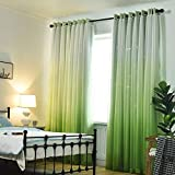 Best Norbi Curtains For Living Rooms - Norbi Gradient Sheer Double Curtains Draperies high Shading Review