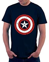 The Souled Store Men's Avengers : Captain America Cotton T-Shirt