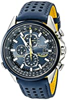 Scratched, used; Citizen Men's Eco-Drive Blue Angels World C