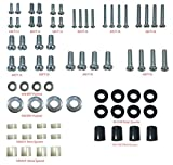 50 led emerson tv - Husky Mounts Universal VESA TV mount Screws Hardware Kit with M8 M6 M5 M4 Screws Washers spacers Variety to Fit all TV sizes and brands wall mounts Brackets and Curved TVs