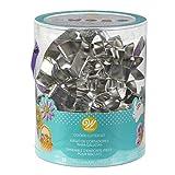 Wilton 2308-5008 18 Piece Metal Easter Cookie Cutter Set 6.5 in