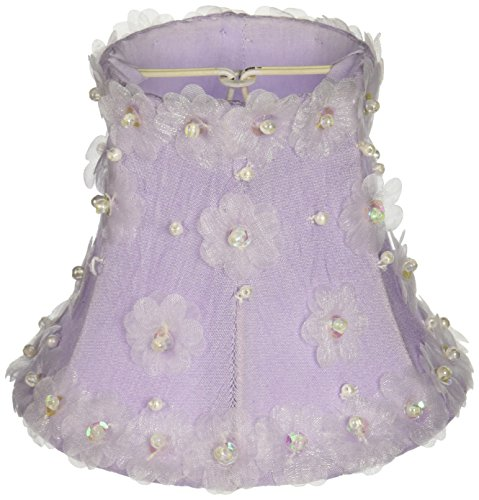 Jubilee Collection 2525 Petal Flower Chandelier Shade, Lavender