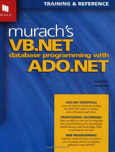 Download pro ado. Net with vb. Net 1. 1 book online video dailymotion.