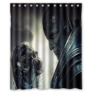 Personalized Custom Fashion X-Men Shower Curtain Bathroom Decoration Mildew Waterproof Polyester Fabric Shower Curtains 60