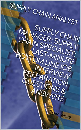 Amazon com: SUPPLY CHAIN ANALYST: SUPPLY CHAIN MANAGER: SUPPLY CHAIN