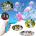 LiPing Funny Summer Magic Bubble Blower Machine Bubble Maker Mini Fan Kids Outdoor Toddlers, Kids, Parties