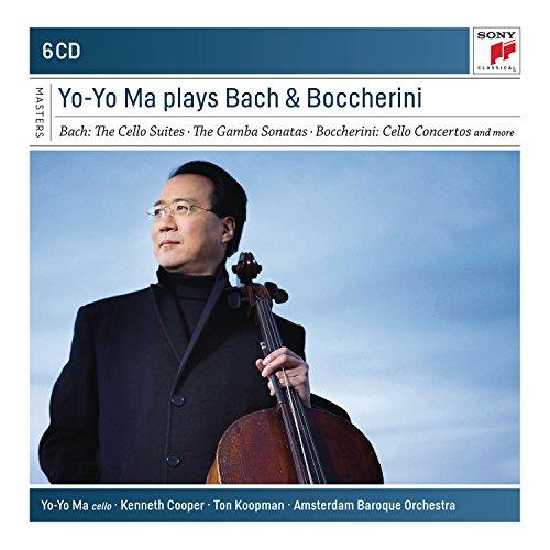 Price comparison product image Yo-Yo Ma Plays Bach & Boccherini (Sony Classical Masters)