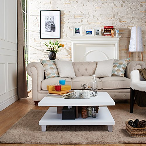 best white coffee table