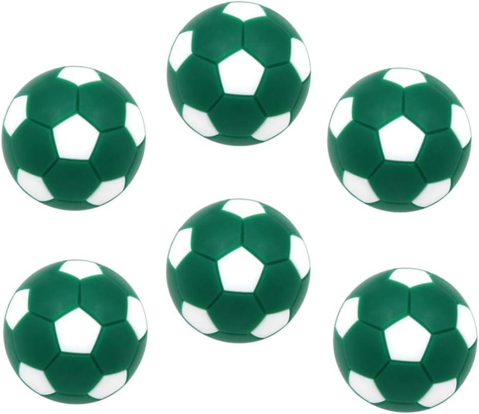 Toygogo 6 Unids Pelotas para Futbolín,32mm, Verde: Amazon.es ...