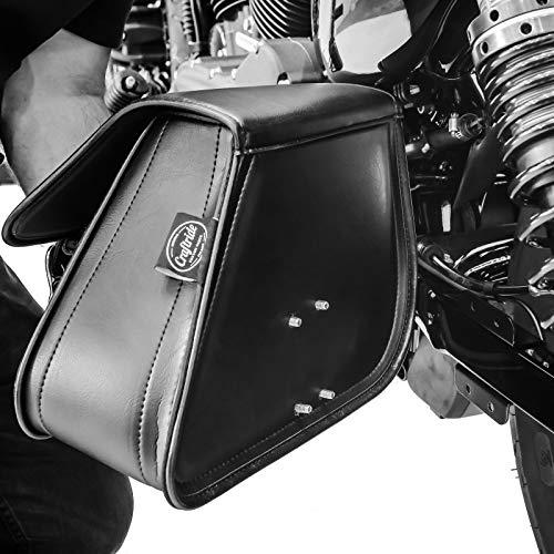 support for Harley Sportster 883 01-10 Craftride Swing Arm Saddle Bag