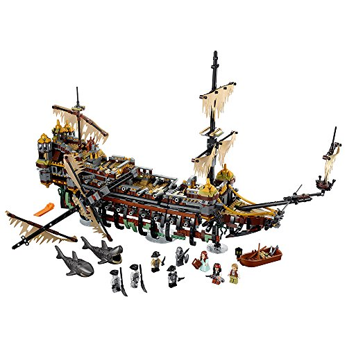 LEGO Pirates of The Caribbean Silent Mary 71042 Building Kit Ship]()