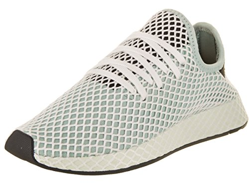 adidas Women's Deerupt Runner Originals Ash Green/Ash Green/Core Black Running Shoe 6 Women - Ash Runner