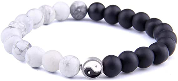 Bracelet de perles avec pierre naturelle et perle en argent Sterling 925 BERGERLIN Feel Goods