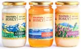 #10: Kyrgyz Honey 3 Pack: At-Bashi, Issyk-Kul, Esparcet; Raw Natural Wildflower Mountain Honey
