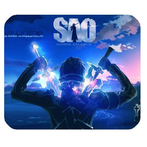 Anime Sword Art Online Personalized Custom Gaming Mousepad Rectangle Mouse Mat / Pad Office Accessory And Gift Design-LL1034 Mouse Pad dsrfty3