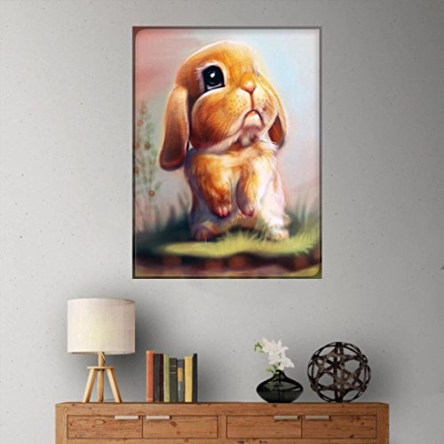 Pandaie -Rabbit-5D Diamond Painting Kits Diy Amazon Kit Cross Stitch Michaels 3D Art Paint Hobby Decor Wall Room Stickers & Murals Bedroom