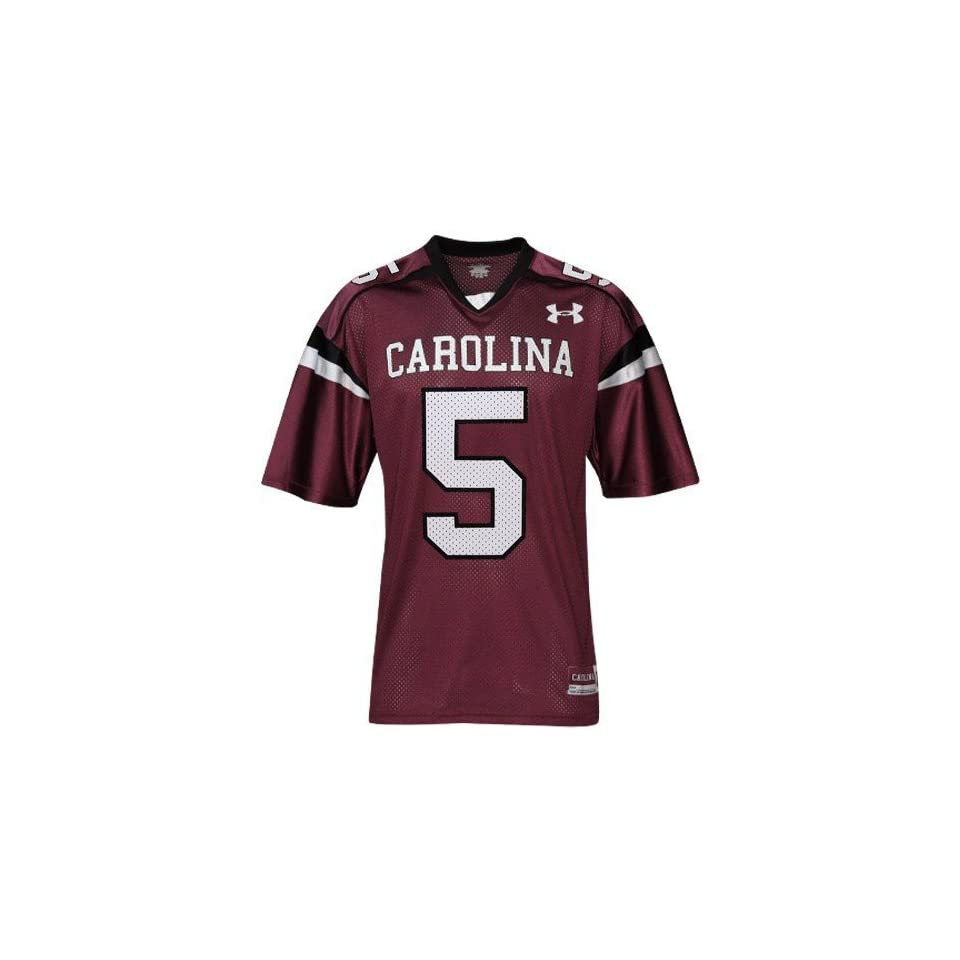 Under Armour South Carolina Gamecocks #5 Youth Garnet