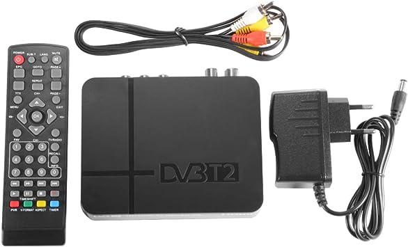 StepWorlf Receptor de satélite 1080P HDMI DVB-T2 TV Box Tuner Combo Converter: Amazon.es: Electrónica