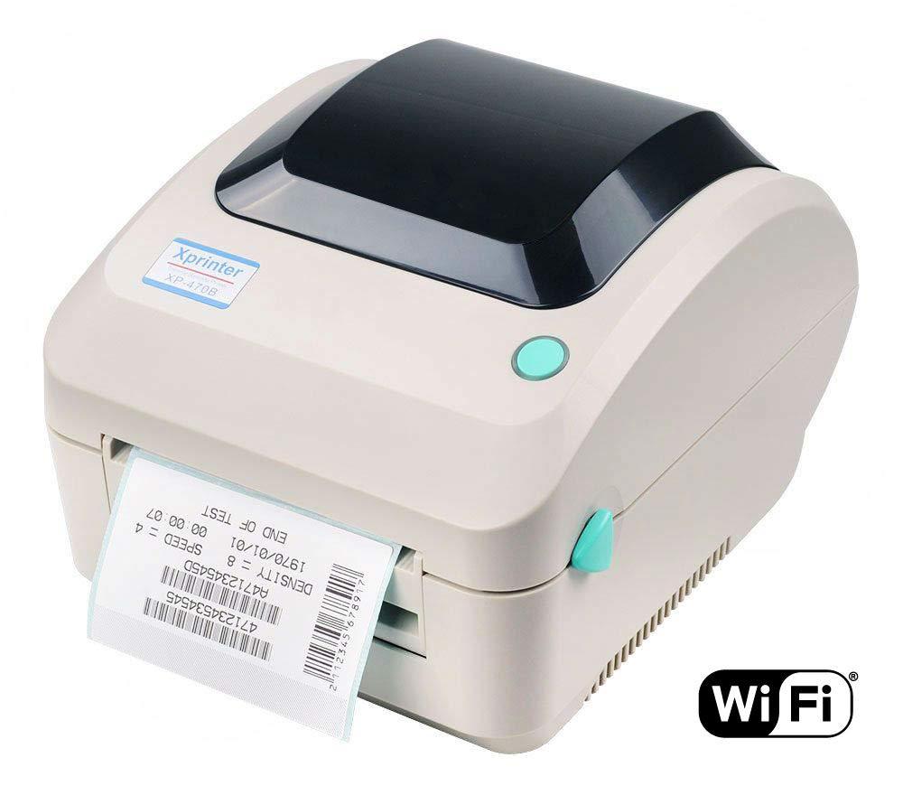 4'' Xprinter XP-470B Direct Thermal Label Printer, USB, ETHERNET & WiFi by Xprinter (Image #1)