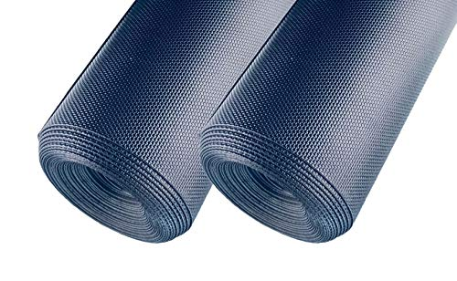 Diamond Plate Flooring Vinyl (AMERIQUE 691322304046 Premium 3Rd Generation Unique and Durable Embossed Diamond Plate Metallic Vinyl Flooring, Coverage: 200Sqft Thickness: 2Mm, Black, 200 Square Feet)